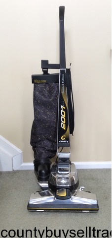 Kirby G Six Limited Edition 2001 Vacuum Cleaner + Shampoo ...